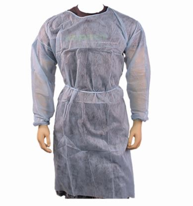 50/CS PolyLite Isolation;Gown Blue Large