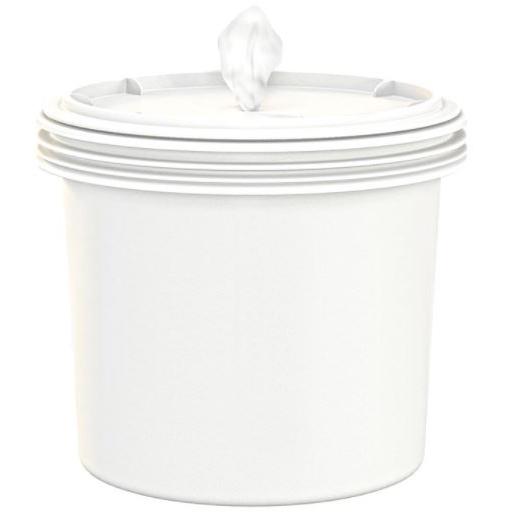 2cs Empty Buckets w/ Lid