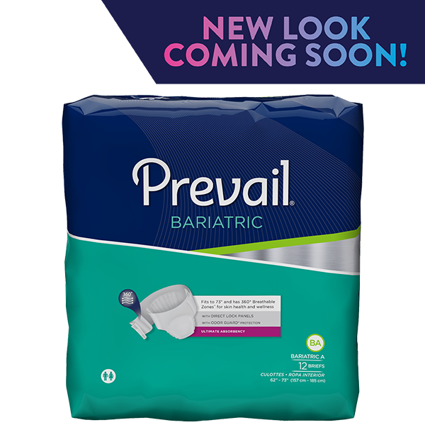 4/10 Prevail Bariatric Size B Ultimate Absorbency Briefs