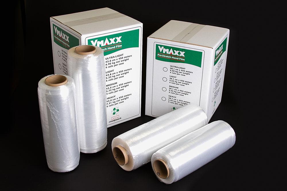 15x1500 VMAXX 80 Stretch;Film 4rl/cs 36cs/skid