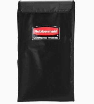 COLLAPSIBLE X CART REPLACEMENT BAG, 4 BUSHELS, BLACK
