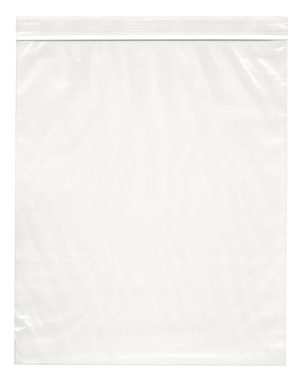 10x12 6mil Zip Top;Poly Bags 500/cs