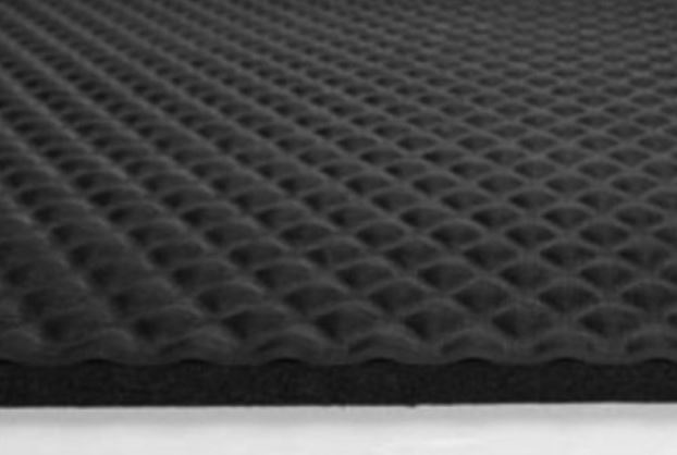 "2x3 Hog Heaven 421 Mat;Black Border 5/8"" thick"