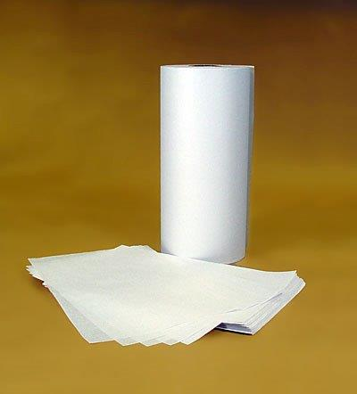 "13x2500 White Interleaving Paper 3"" core 50#"